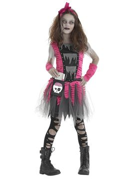 Child Zombie Girl Costume