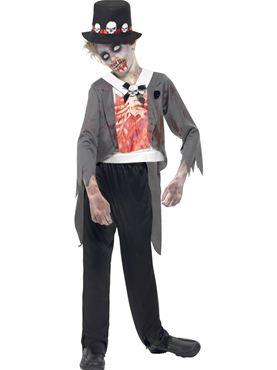Child Zombie Groom Costume