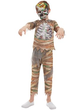 Child Zombie Mummy Costume