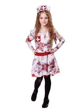 Child Zombie Nurse Costume