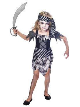 Child Zombie Pirate Costume