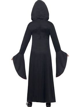 Child Hooded Vamp Costume - Side View