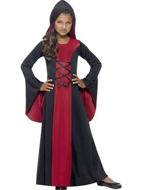 Child Hooded Vamp Costume