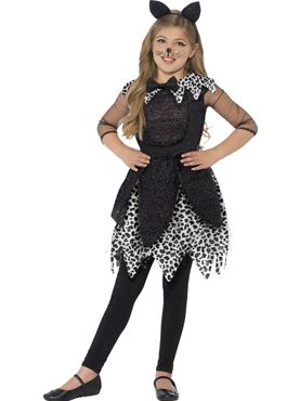 Child Deluxe Midnight Cat Costume