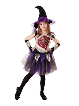 Child Zombie Witch Costume