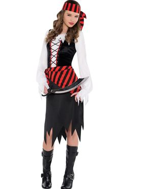 Teen Buccaneer Beauty Costume