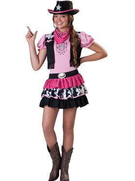 Child Giddy Up Girl Costume
