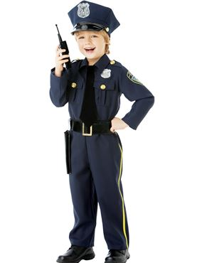 Child Police Officer Costume Couples Costume