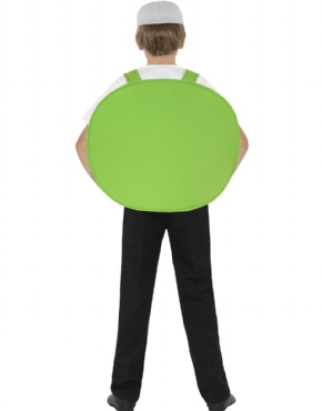 Child Angry Birds Green Pig Costume - Side View