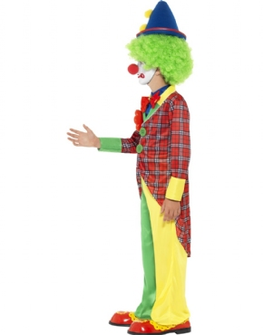 Child Clown Costume - Back View