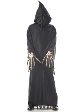 Child Deluxe Grim Reaper Costume - Back View