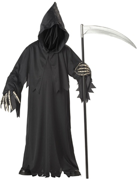 Child Deluxe Grim Reaper Costume