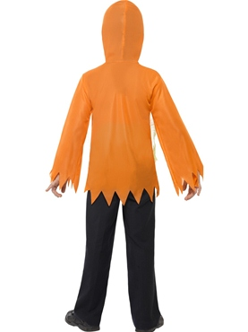 Child Pumpkin Monster Instant Kit - Back View