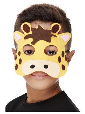 Childrens Felt Giraffe Mask