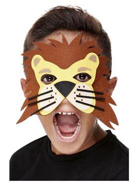 Childrens Felt Lion Mask