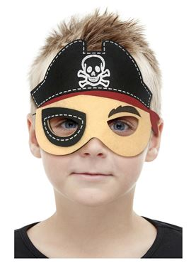 Childrens Felt Pirate Mask