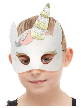 Childrens Felt Unicorn Mask