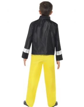 Child Fireman Costume - Side View