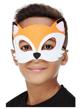 Childrens Fox Felt Mask