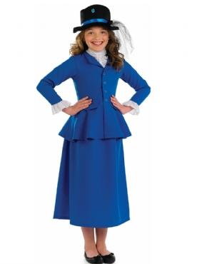 Child Mary Victorian Nanny Costume