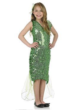 Child Mermaid Dress Costume