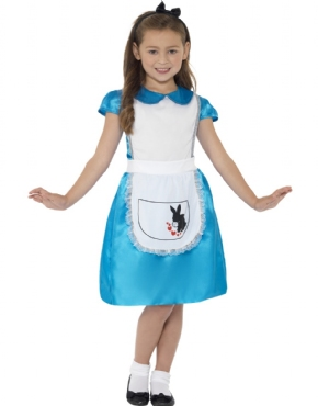 Child Alice Fairytale Princess Costume