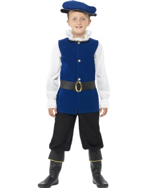 Child Tudor Boy Costume Couples Costume
