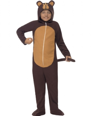Child Monkey Onesie Costume