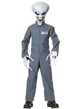 Child Property of Area 51 Alien Costume