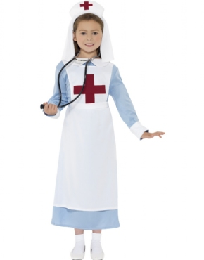 Child WWI Nurse Costume