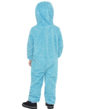 Child Sesame Street Cookie Monster Costume - Side View
