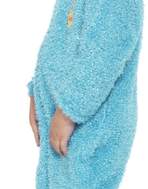 Child Sesame Street Cookie Monster Costume - Back View