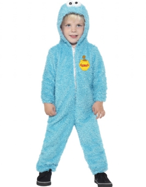 Child Sesame Street Cookie Monster Costume