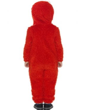 Child Sesame Street Elmo Costume - Side View