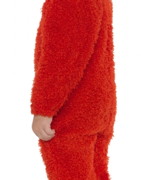Child Sesame Street Elmo Costume - Back View