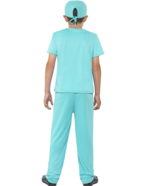 Child Surgeon Costume - Side View