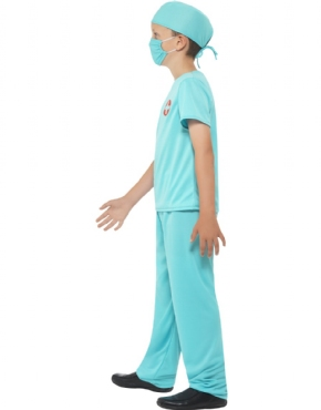 Child Surgeon Costume - Back View