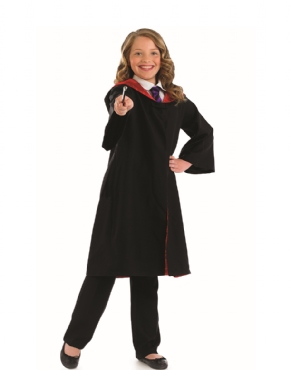Childrens Wizard Costume - Back View