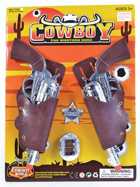 Childs Cowboy Gun & Holster Set