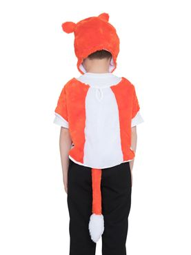 Childs Fox Tabard Costume - Side View