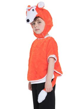 Childs Fox Tabard Costume - Back View
