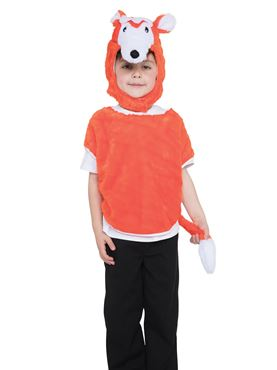 Childs Fox Tabard Costume
