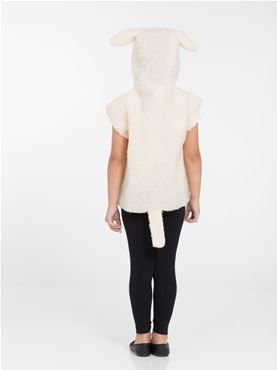 Childs Lamb Tabard Costume - Side View