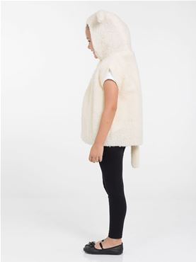 Childs Lamb Tabard Costume - Back View