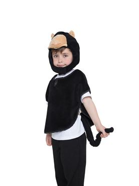 Childs Monkey Tabard Costume - Back View