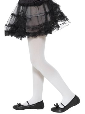 Childs Opaque White Tights