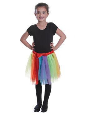 Childs Rainbow Tutu
