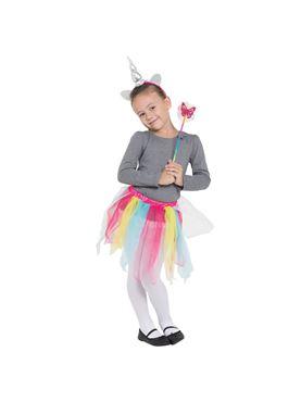 Childs Rainbow Unicorn Set