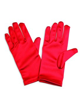 Childs Red Gloves