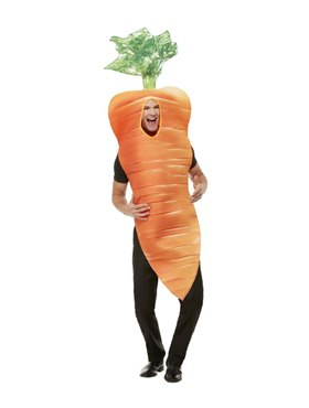 Christmas Carrot Costume - Back View